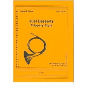 Just Desserts Frippery Style Lowell E. Shaw Partition laflutedepan