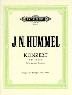 HUMMEL - Konzert E-Dur - Partition - di-arezzo.com