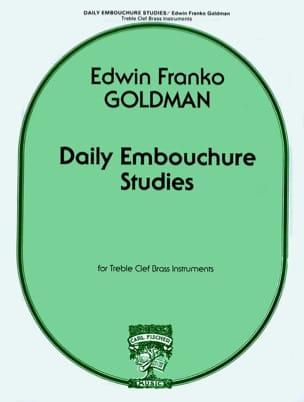 Daily Embouchure Studies Edwin Franko Goldman Partition laflutedepan