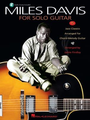 Miles Davis For Solo Guitar Miles Davis Partition Jazz - laflutedepan