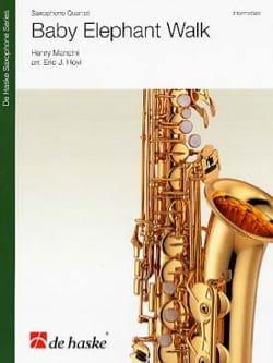 Baby Elephant Walk MANCINI Partition Saxophone - laflutedepan