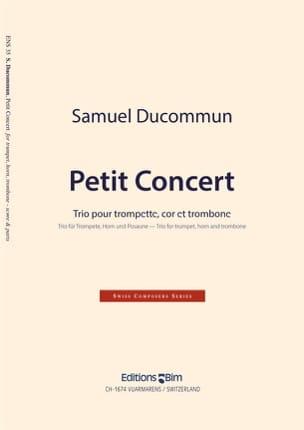Petit Concert Samuel Ducommun Partition laflutedepan