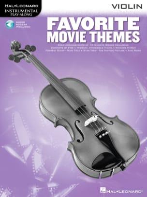 Favorite Movie Themes Partition Violon - laflutedepan