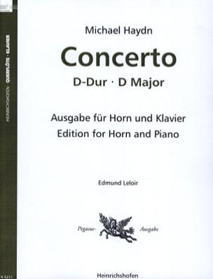 Concerto En Ré Majeur Michael HAYDN Partition Cor - laflutedepan