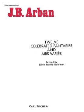 12 Celebrated Fantaisies & Airs Variés laflutedepan