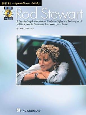 Guitar Signature Licks Rod Stewart Partition Pop / Rock - laflutedepan