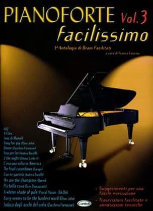 Pianoforte Facilissimo Volume 3 - Partition - laflutedepan.com