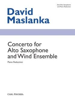 Concerto for Alto Saxophone and Wind Ensemble laflutedepan
