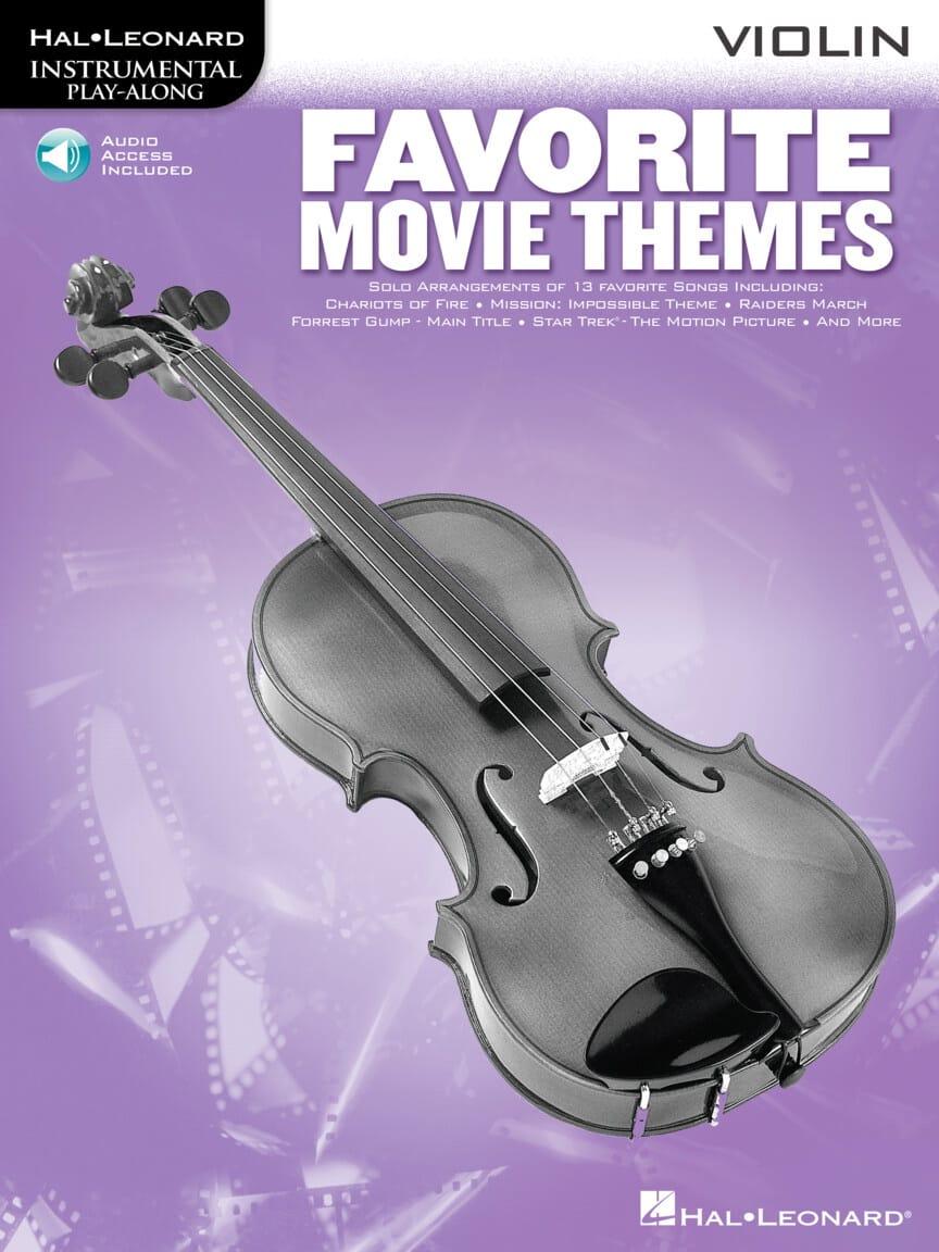 Favorite Movie Themes - Partition - Violon - laflutedepan.com