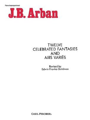 12 Celebrated Fantaisies & Airs Variés - laflutedepan.com