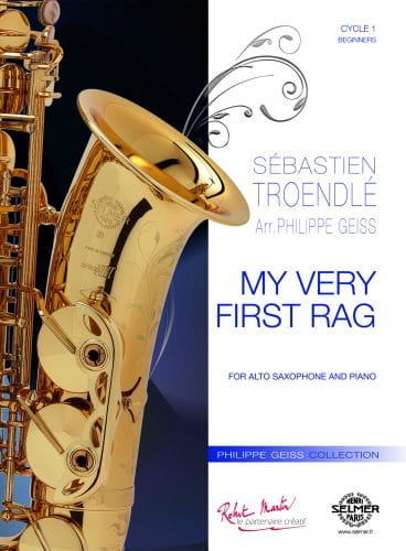 My Very First Rag - Sébastien Troendlé - Partition - laflutedepan.com