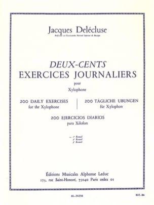 200 Exercices Journaliers Volume 1 Jacques Delécluse laflutedepan