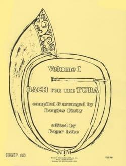 Bach For The Tuba Volume 1 BACH Partition Tuba - laflutedepan