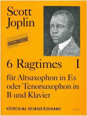 6 Ragtimes Volume 1 JOPLIN Partition Saxophone - laflutedepan