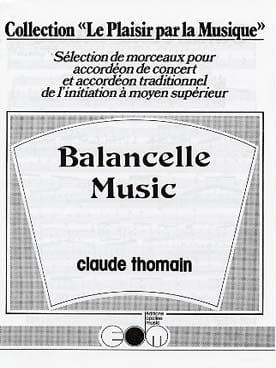 Balancelle Music Claude Thomain Partition Accordéon - laflutedepan