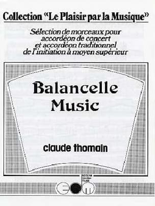Balancelle Music - Claude Thomain - Partition - laflutedepan.com