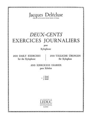 200 Exercices Journaliers Volume 2 Jacques Delécluse laflutedepan