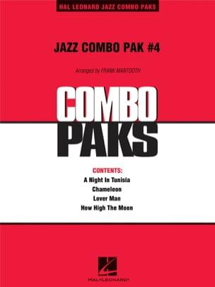 Jazz Combo Pak # 4 Partition ENSEMBLES - laflutedepan