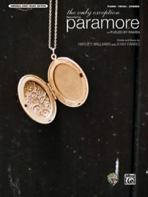 The Only Exception - Paramore - Partition - laflutedepan.com