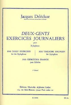 Jacques Delécluse - 200 Daily Exercises Volume 3 - Partition - di-arezzo.com