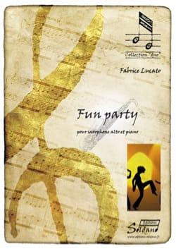 Fun Party Fabrice Lucato Partition Saxophone - laflutedepan