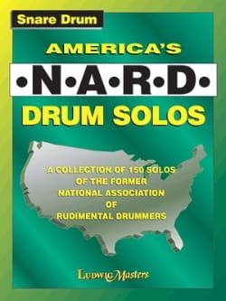 America's N.A.R.D. Drum Solos Partition Caisse-claire - laflutedepan