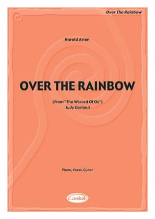Over The Rainbow Harold Arlen Partition Musique de film - laflutedepan