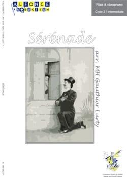 Sérénade SCHUBERT Partition Vibraphone - laflutedepan
