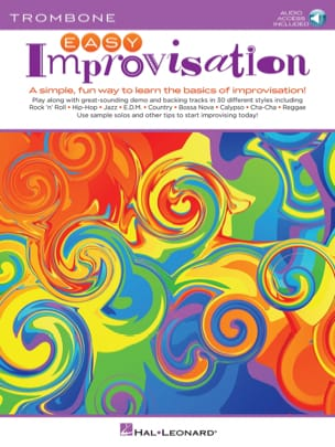 Easy Improvisation for Trombone Peter Deneff Partition laflutedepan