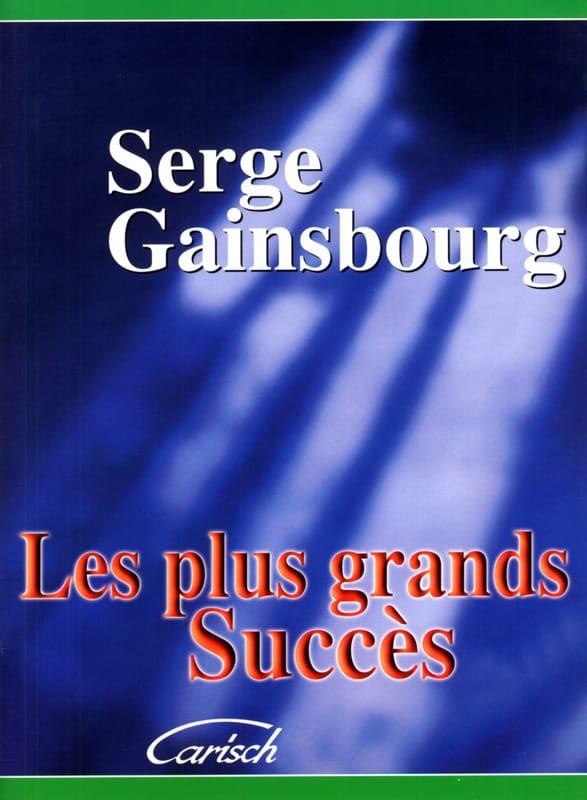 Les plus grands succès - Serge Gainsbourg - laflutedepan.com