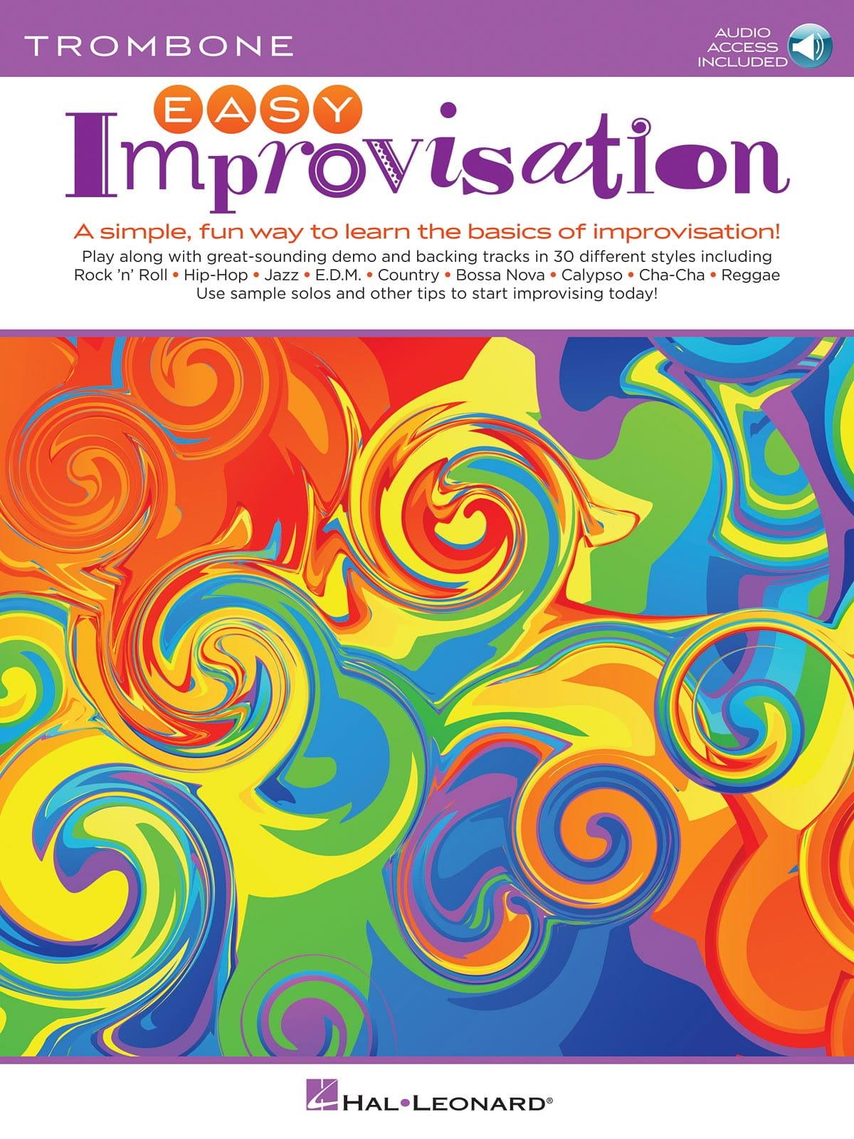 Easy Improvisation for Trombone - Peter Deneff - laflutedepan.com