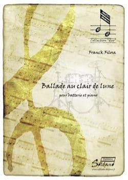 Ballade au clair de Lune Franck Filosa Partition laflutedepan