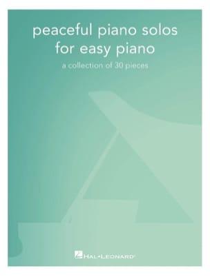 Peaceful Piano Solos for Easy Piano Partition laflutedepan