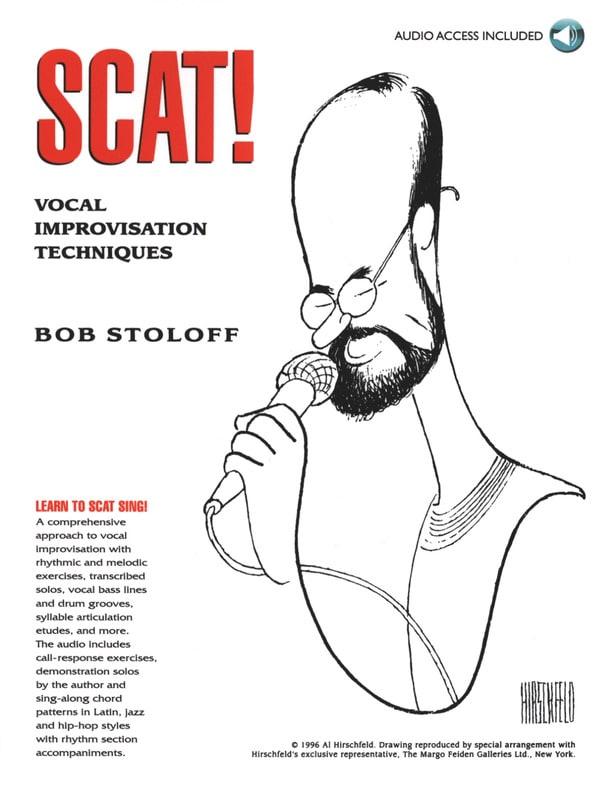 Scat! Vocal Improvisation Techniques - Bob Stoloff - laflutedepan.com