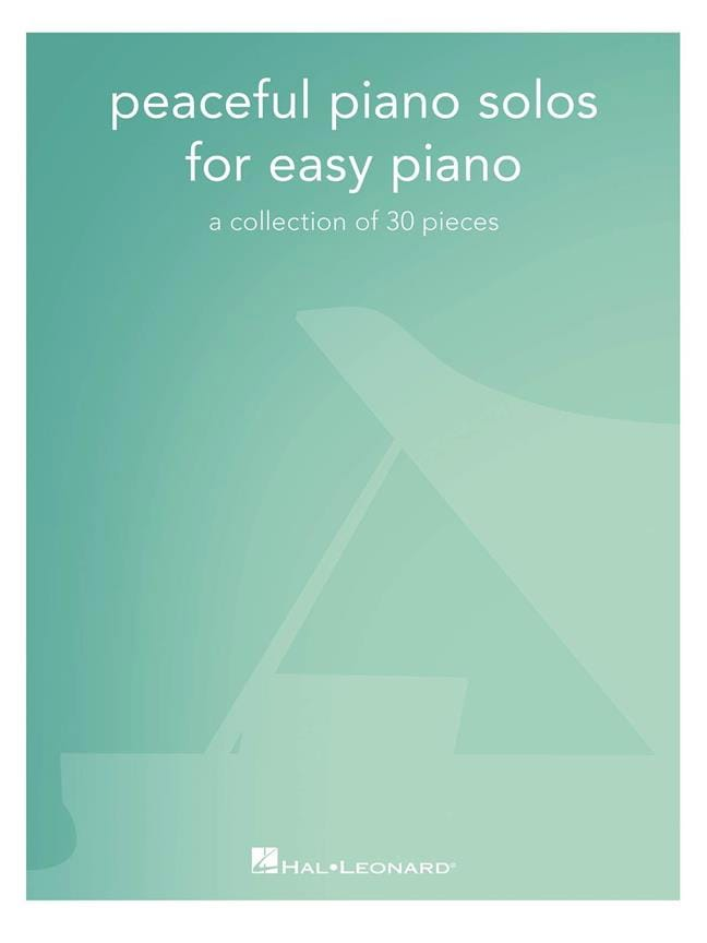 Peaceful Piano Solos for Easy Piano - Partition - laflutedepan.be
