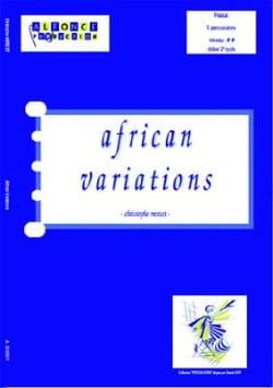 African Variations Christophe Merzet Partition laflutedepan