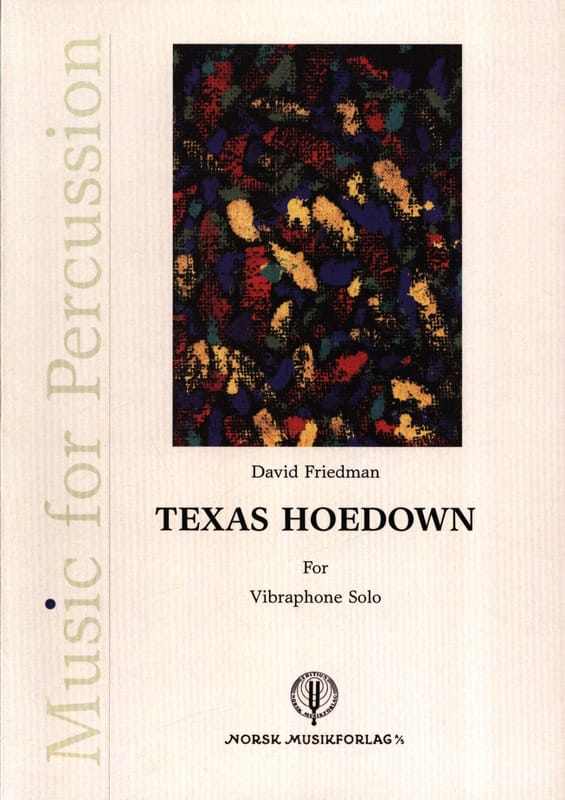 Texas Hoedown - David Friedman - Partition - laflutedepan.com