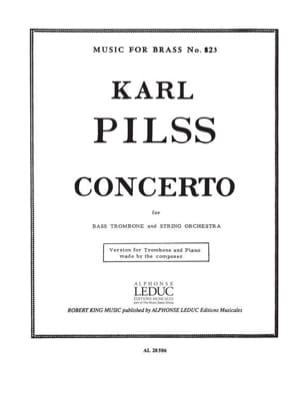 Concerto Karl Pilss Partition Trombone - laflutedepan