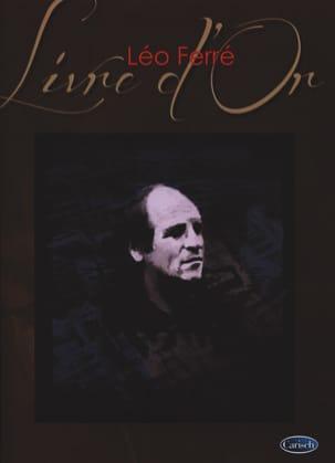 Livre D' Or - 15 Succès Léo Ferré Partition laflutedepan