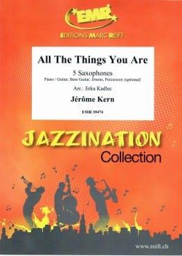 All The Things You Are - Quintette de Saxophones laflutedepan