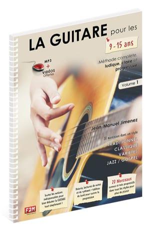 La Guitare pour les 9-15 ans - Volume 1 - laflutedepan.com
