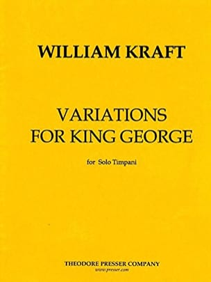 Variations For The King Georges William Kraft Partition laflutedepan