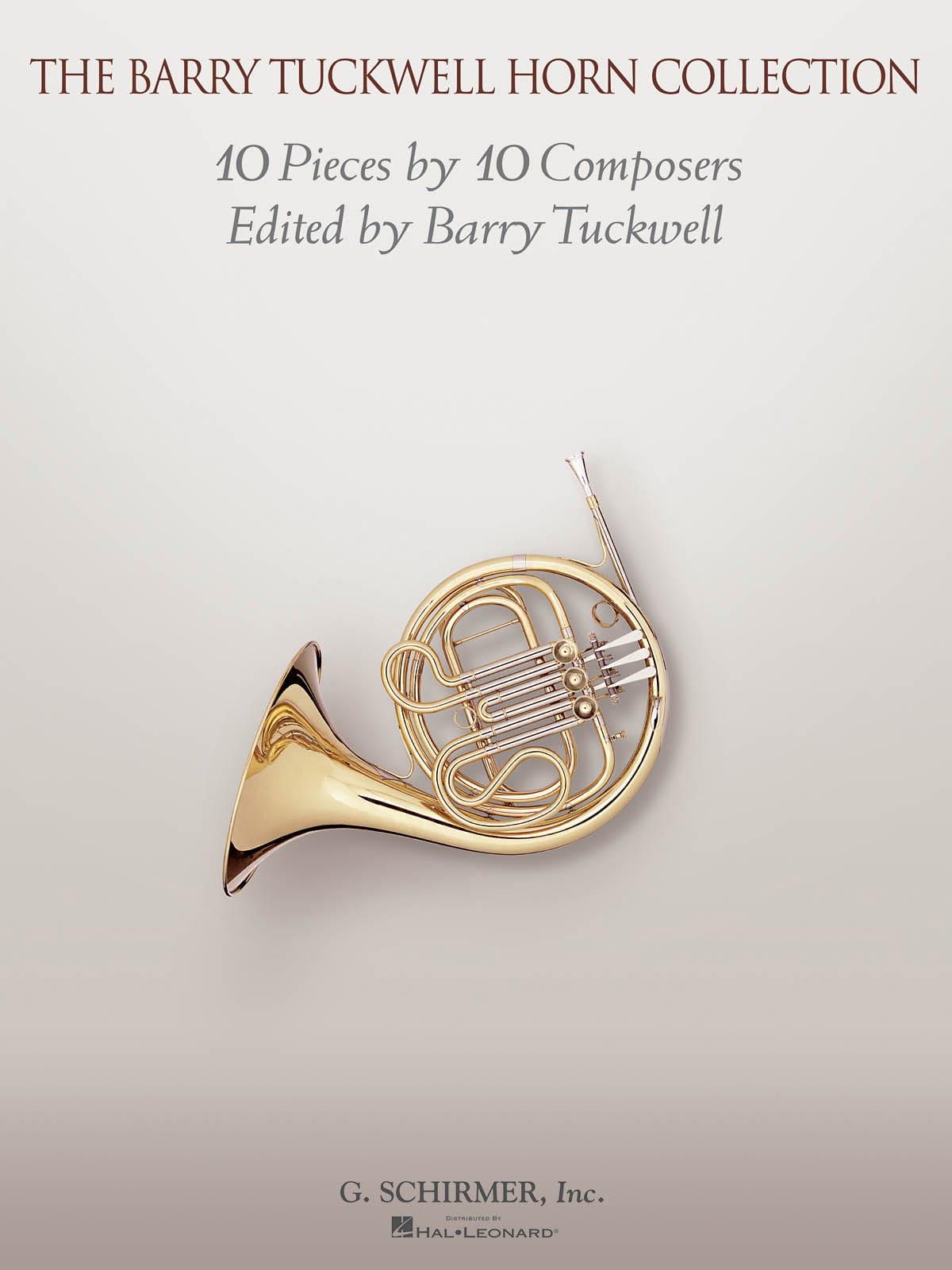 The Barry Tuckwell Horn Collection - 10 pièces de répertoire - laflutedepan.com