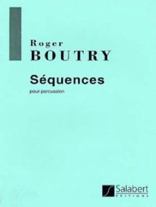 Séquences - Roger Boutry - Partition - laflutedepan.com