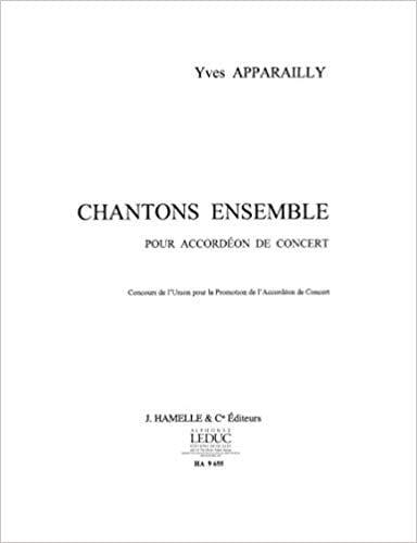 Chantons Ensemble - Yves Apparailly - Partition - laflutedepan.com