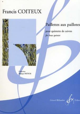 Paillettes Aux Paillotes Francis Coiteux Partition laflutedepan