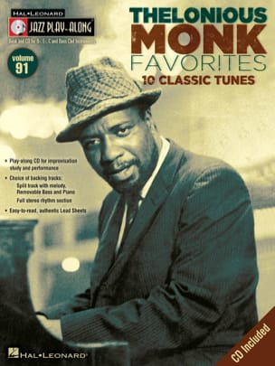 Jazz play-along volume 91 - Thelonious Monk laflutedepan