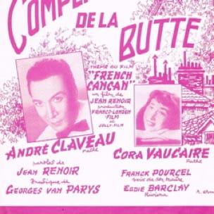 Complainte La de la Butte - Georges Van Parys - laflutedepan.com
