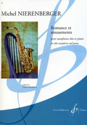 Romance Et Amusements Michel Nierenberger Partition laflutedepan