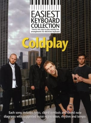 Easiest Keyboard Collection - Coldplay Coldplay Partition laflutedepan